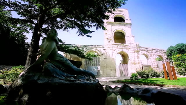 Roman Ruins in Arles video