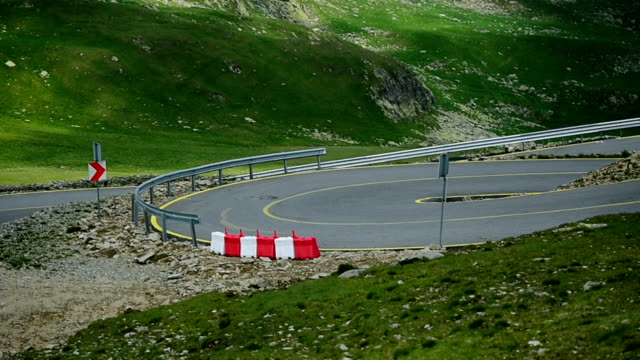 Romania's Transalpina mountain road in summer video