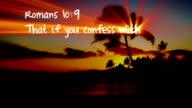 Romans 10:9 - HD video