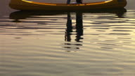 HD: Romantic Canoeing On The Lake video