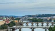 Romantic city of Prague video