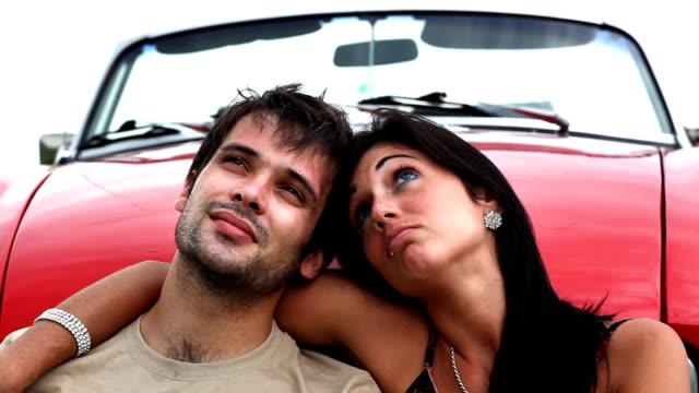 Romantic Convertible Couple video