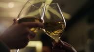 Romantic Couple In drinking Wine video