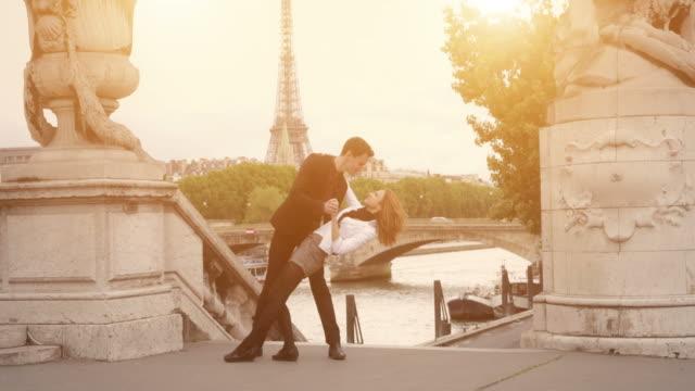 Romantic Couple in Paris video