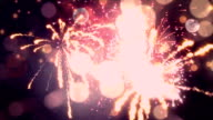 Romantic Fireworks Heart video