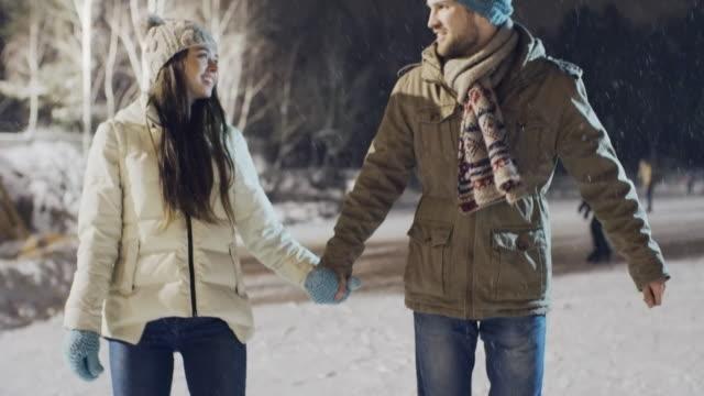 Romantic Ice-skating video