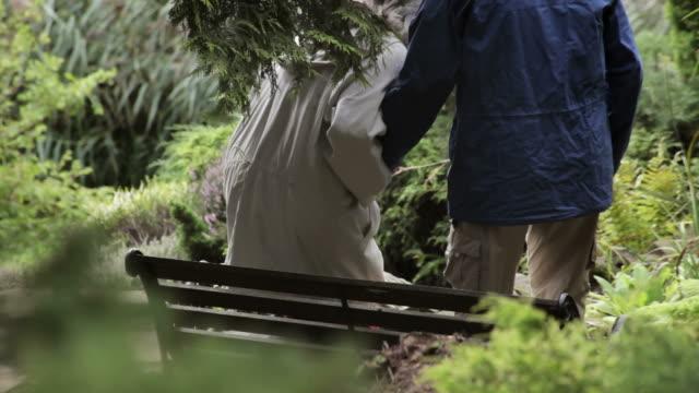 Romantic Moment in the Garden video
