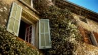 Romantic streets in historic village Saint Paul de Vence, South France video