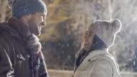 Romantic Winter Evening video