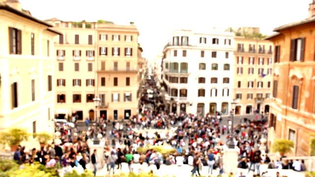 Rome (HD) defocused video