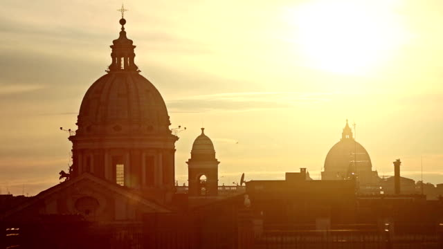 Rome Dome from Pincio Hill video