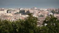 Rome from Gianicolo Hill video