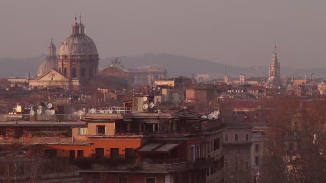 Rome from Giardino degli Aranci video