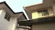 roof gutter on house video