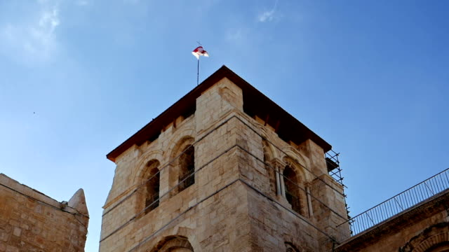 Roof of the Holy Sepulcher Church in Jerusalem video