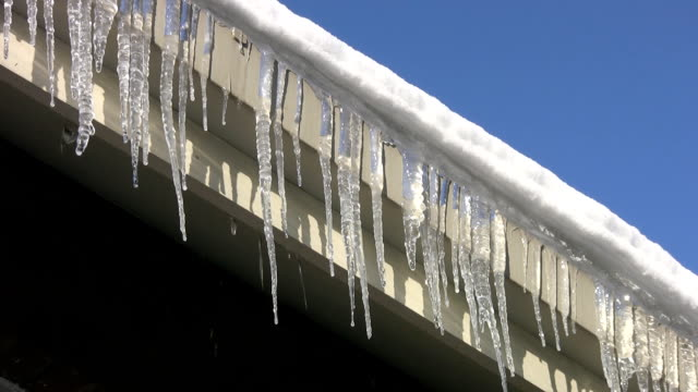 Rooftop Icicles. video