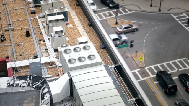 Rooftop Industrial Air Conditioner Units video