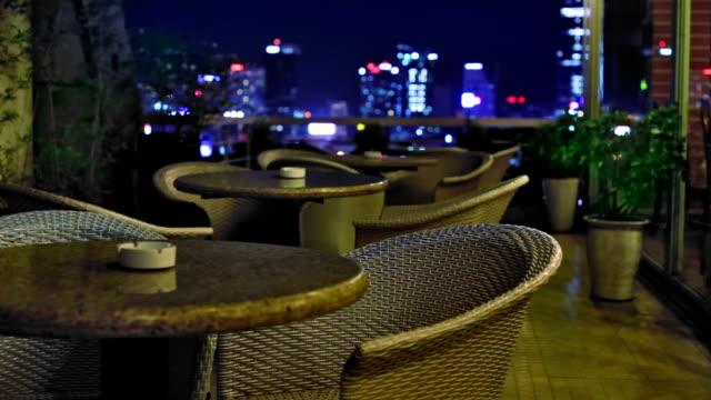 Rooftop restaurant video