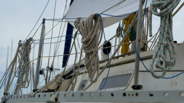 Ropes on Boat video
