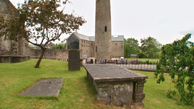 HD: Roscrea Round Tower video