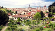 Rose garden - Florence, Tuscany Italy video