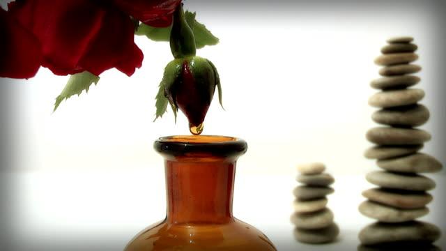 rose oil, video