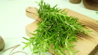 Rosemary and thyme video