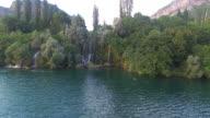 Roski slap waterfalls on Krka river video