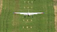 Roskilde Airport  - Aerial View - Zealand, Roskilde Kommune, Denmark video