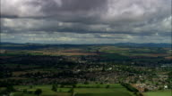 Ross On Wye  - Aerial View - England, Herefordshire, Ross-on-Wye, United Kingdom video
