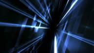 Rotate flight between abstract walls video