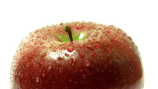 Rotating apple video