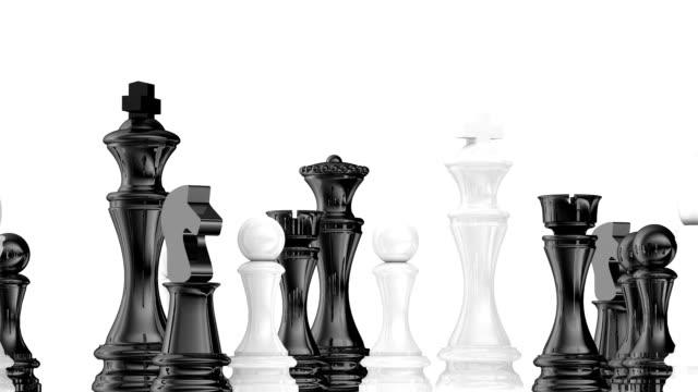Rotating chess board video