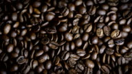 Rotating Coffee beans video