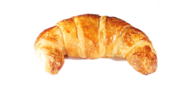 Rotating croissant video