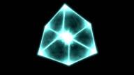 Rotating Cube - Loop video