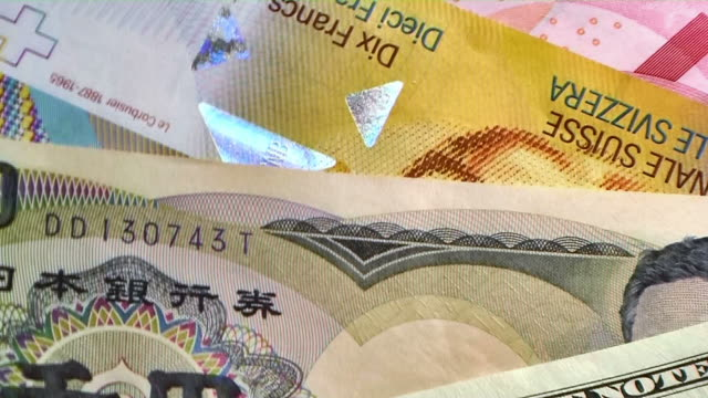 HD: Rotating currencies (video) video