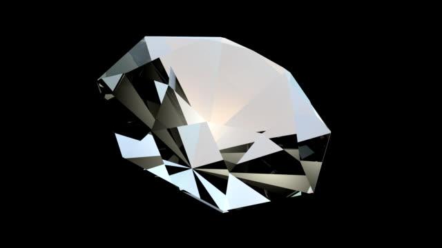 Rotating diamond FullHD video