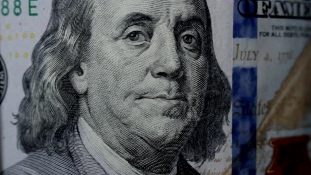 rotating dollars, franklin close video