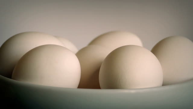 Rotating Eggs In Bowl video