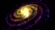 Rotating Galaxy - Loopable video
