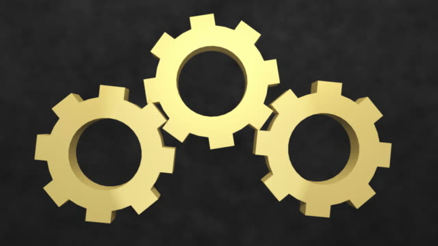 Rotating Gears video