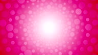 Rotating pink background with a circle of love video