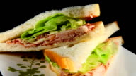Rotating sandwich video