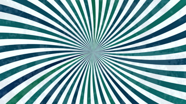 Rotating spiral in vintage style video