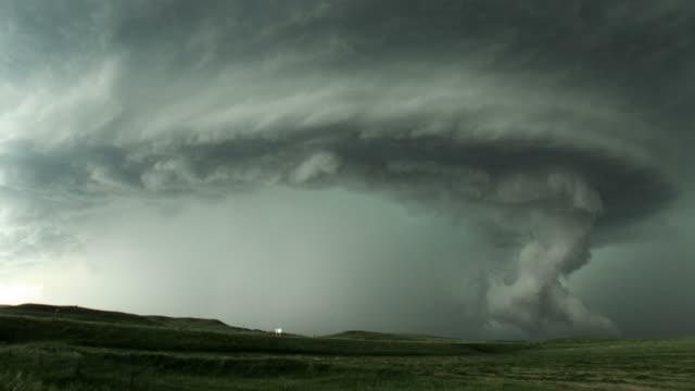 Rotating Tornado Cloud Formation video