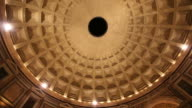Rotating Video of the Pantheon Temple Impluvium video