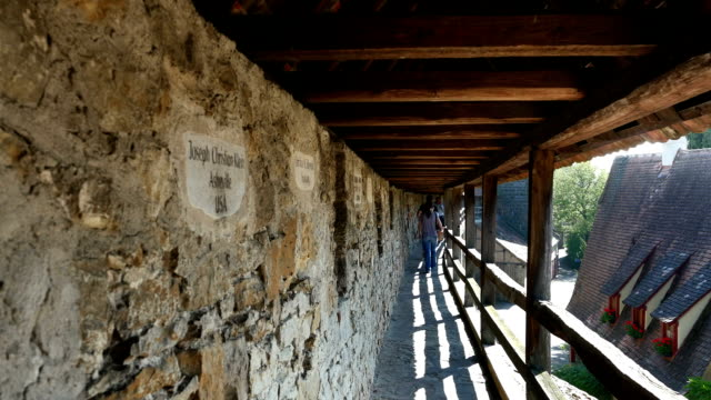 Rothenberg Reconstructed Historical City Wall video