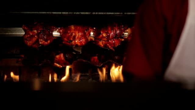 Rotisserie Chickens video