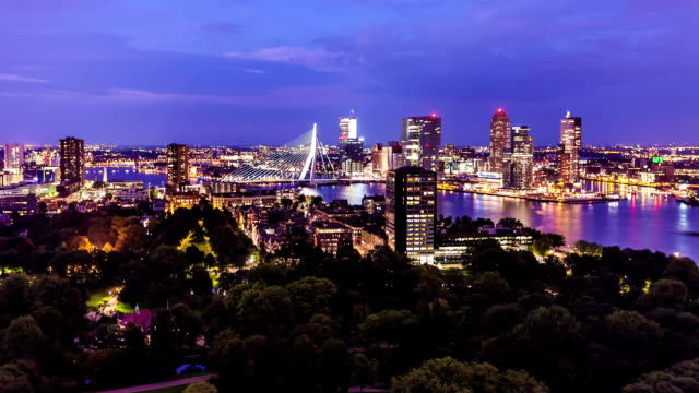 Rotterdam Skyline video